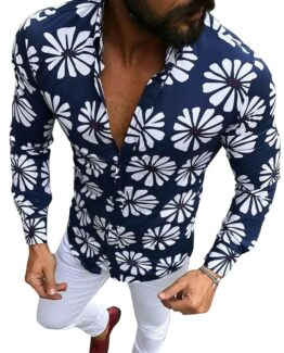 Pasquale Men's Slim fit Floral Shirt