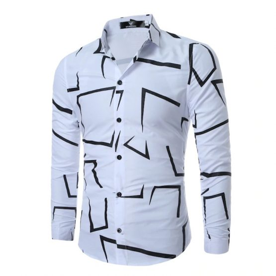 Short Sleeve Shirt For Men, 3D Print Shirt