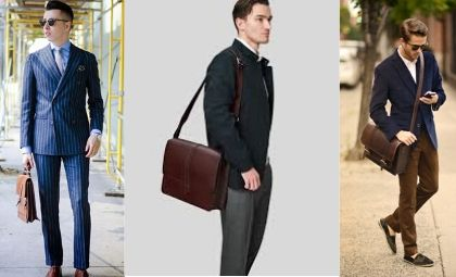 types of bags for males
