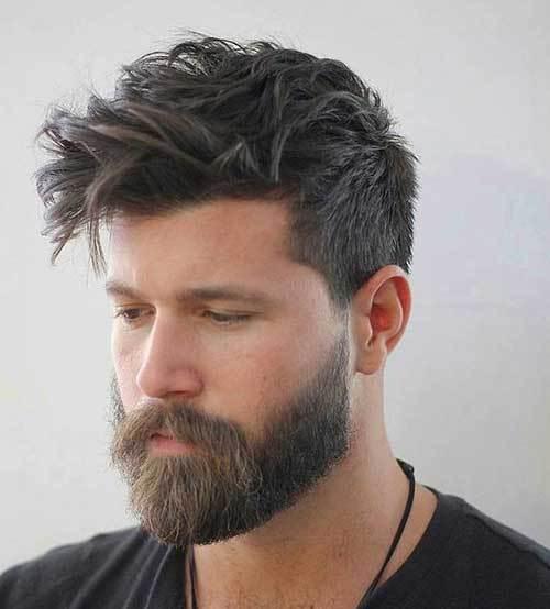 beard style for medium hair, beard and haircut
