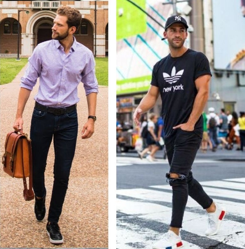 Can you wear sneakers with jeans? shoes to wear with jeans