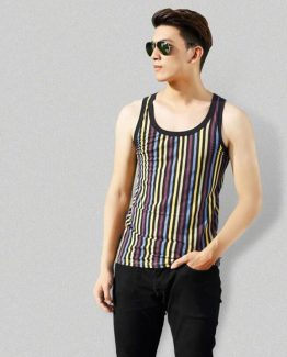 mens-stripped-tank-top