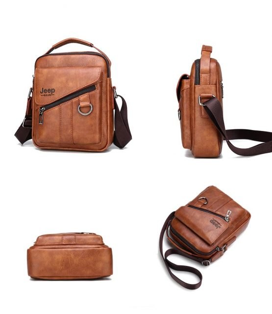 JEEP BULUO Mens Sling Bag