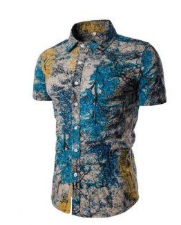 Coreno Floral Mens Shirt