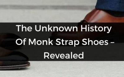 monk strap shoes history
