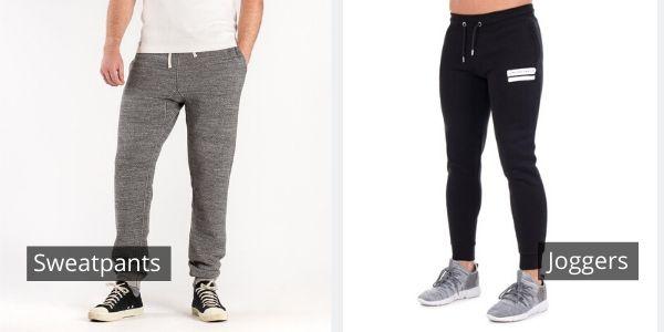 jogger pants vs sweatpants