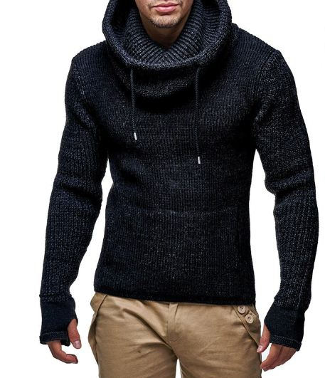 Leif Nelson Men's Knitted Pullover
