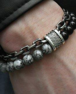 mens beaded bracelets-1