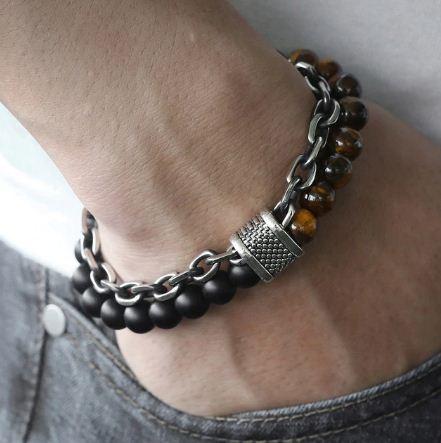 mens beaded bracelets-10
