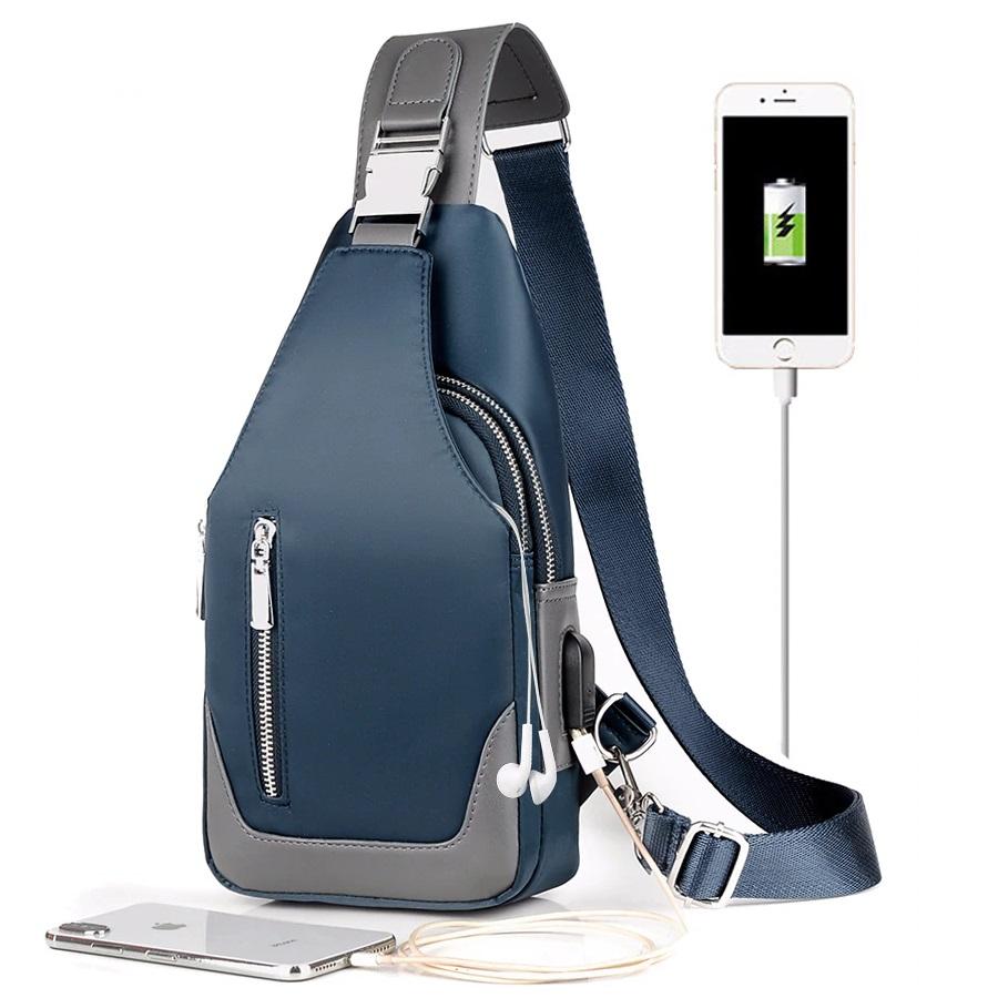 messenger bag with usb charger