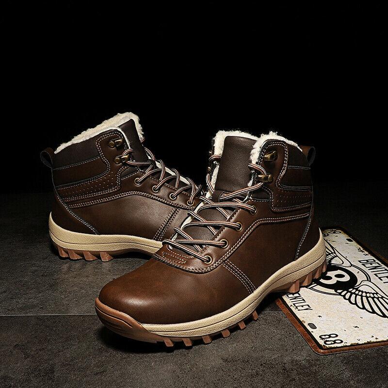 Westside Men's Leather Waterproof Hiker Boots