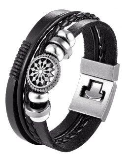 multilayer leather bracelet-6