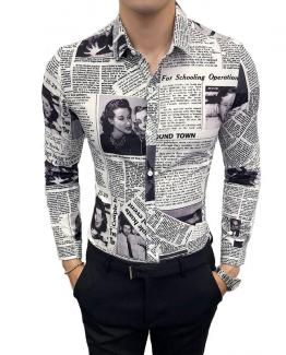 newspaper shirt
