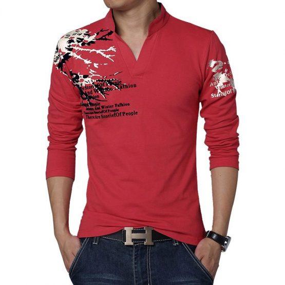 splash t shirt V neck, splash t shirt design, color splash t shirt design, splash men's shirt, buy mens t shirt online