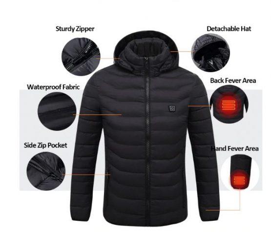 usb heated jacket