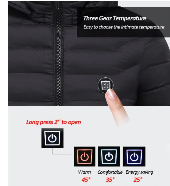 usb heated jacket